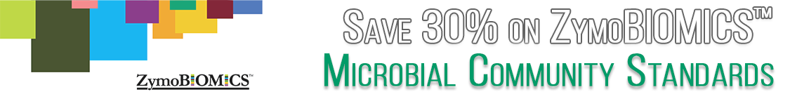 Save 30% on ZymoBiomics Microbial Community Standards through Cedarlane